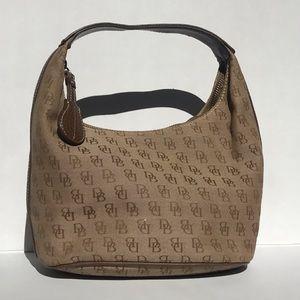 Dooney & Bourke small bucket bag brown/tan